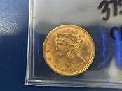 $5 HALF-EAGLE/LIBERTY Gold Coin